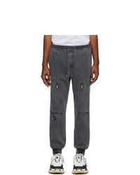 Pantalón chino en gris oscuro de Juun.J
