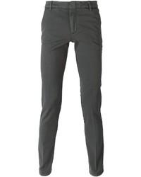 Pantalón chino en gris oscuro de Kenzo