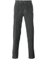 Pantalón chino en gris oscuro de Kiton