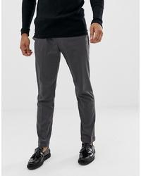 Pantalón chino en gris oscuro de Pier One