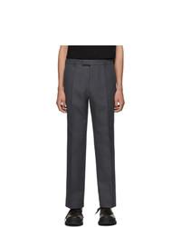 Pantalón chino en gris oscuro de Prada
