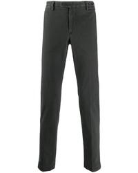 Pantalón chino en gris oscuro de Pt01