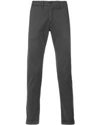 Pantalón chino en gris oscuro de Re-Hash