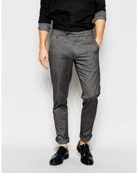 Pantalón chino en gris oscuro de Ted Baker