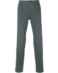 Pantalón chino en gris oscuro de Tomas Maier