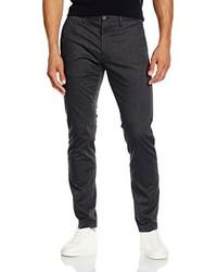Pantalón chino en gris oscuro de Tommy Hilfiger