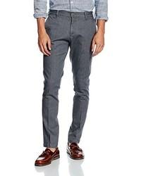 Pantalón chino en gris oscuro de Tommy Hiliger