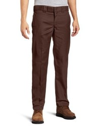 Pantalón chino en marrón oscuro de Dickies