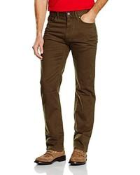 Pantalón chino en marrón oscuro de Eddie Bauer
