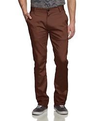 Pantalón chino en marrón oscuro de Emerica