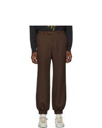 Pantalón chino en marrón oscuro de Gucci