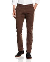 Pantalón chino en marrón oscuro de La Martina