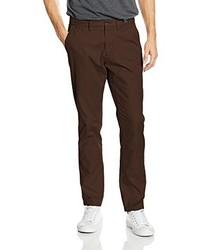 Pantalón chino en marrón oscuro de Tommy Hilfiger