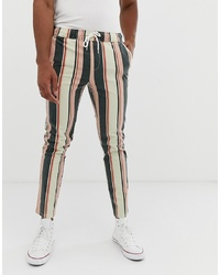 Pantalón chino en multicolor de ASOS DESIGN