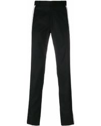 Pantalón chino en negro y blanco de Alexander McQueen