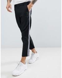 Pantalón chino en negro y blanco