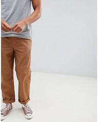 Pantalón chino en tabaco de ASOS DESIGN