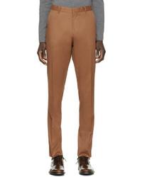 Pantalón chino en tabaco de Burberry