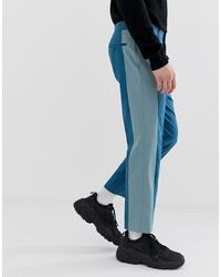 Pantalón chino en verde azulado de ASOS DESIGN