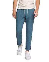 Pantalón chino en verde azulado de edc by Esprit