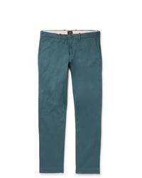 Pantalón chino en verde azulado de J.Crew