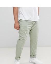 Pantalón chino en verde menta de ASOS DESIGN