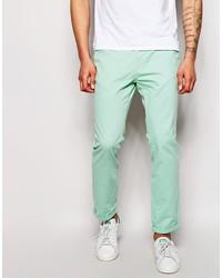 Pantalón chino en verde menta de Bellfield
