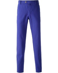 Pantalón chino en violeta de Giorgio Armani