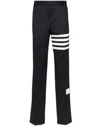 Pantalón chino estampado en negro y blanco de Thom Browne