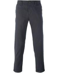 Pantalón Chino Gris Oscuro de Burberry