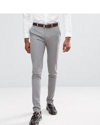 Pantalón chino gris de ASOS DESIGN