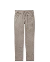 Pantalón chino gris de Massimo Alba