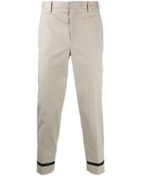 Pantalón chino gris de Neil Barrett