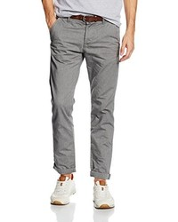 Pantalón chino gris de Tom Tailor Denim