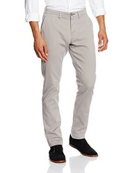 Pantalón chino gris de Tom Tailor