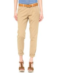 Pantalon chino marron claro original 3387849