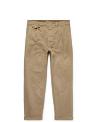 Pantalón chino marrón claro de Alex Mill