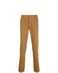 Pantalón chino marrón claro de Boglioli