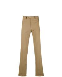 Pantalón chino marrón claro de Brioni