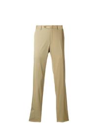 Pantalón chino marrón claro de Canali