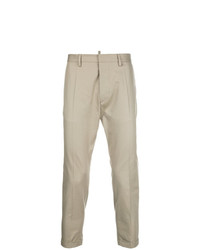Pantalón chino marrón claro de DSQUARED2