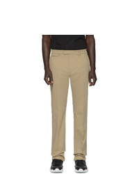 Pantalón chino marrón claro de Fendi