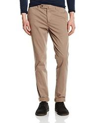 Pantalón chino marrón claro de Hackett London