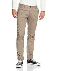 Pantalón chino marrón claro de Lindbergh