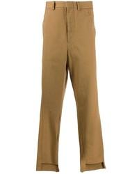Pantalón chino marrón claro de Maison Flaneur