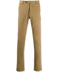 Pantalón chino marrón claro de Tagliatore