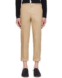 Pantalón Chino Marrón Claro de Thom Browne