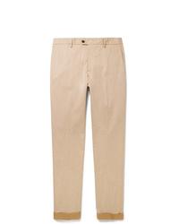 Pantalón chino marrón claro de Tod's