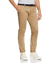Pantalón chino marrón claro de Tom Tailor