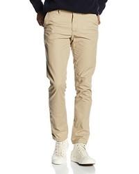 Pantalón chino marrón claro de Tommy Hilfiger